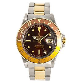 Rolex GMT-Master 1675 Vintage 40mm Mens Watch