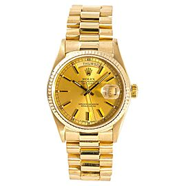Rolex Day-Date 18038 Vintage 36mm Mens Watch