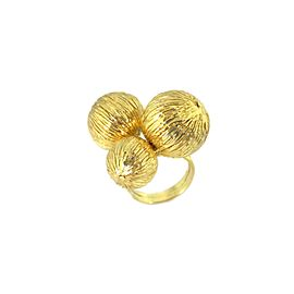 Ball 14K Yellow Gold Ring Size 7