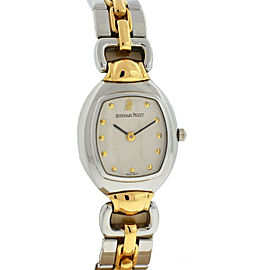 Audemars Piguet Two Tone Audemarine Quartz Ladies Watch