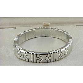 Bulgari 18K White Gold Bracelet