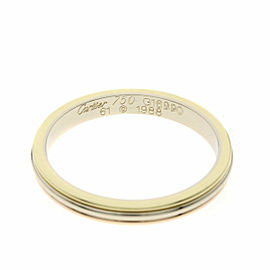 CARTIER 18K 3 color Ring Size 9.5