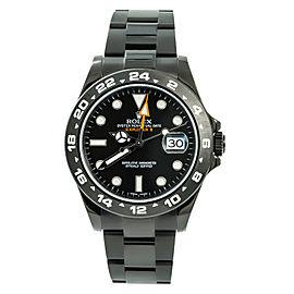 Rolex Explorer II 216570 Unworn Mens Automatic Watch PVD Stainless Steel 42mm
