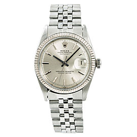 Rolex Datejust 1601 Mens Automatic Vintage Watch Stainless Steel 36mm