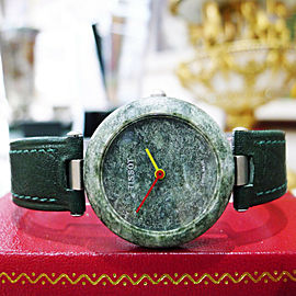 Vintage Tissot Rock Watch R150 Speckled Green Quartz Midsize Watch