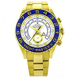 Rolex Yacht Master II 18k Yellow Gold Wrist Watch for Men 116688