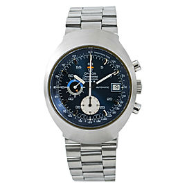 Omega Speedmaster Mark III 176.002 Blue Dial Mens Automatic Vintage Watch 41mm