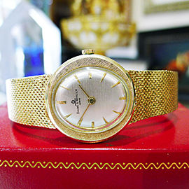 Ladies BAUME & MERCIER 14K Yellow Gold Ellipse Dress Watch