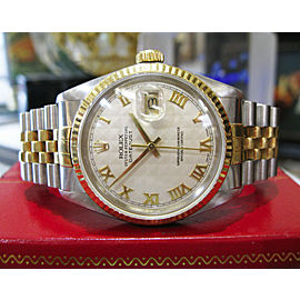 Men's Rolex Oyster Perpetual Datejust Gold & Stainless Steel Watch
