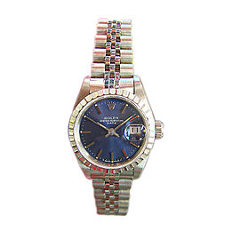 Ladies Rolex Oyster Perpetual Date Stainless Steel