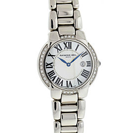 Raymond Weil Jasmine Diamond Mother of Pearl Dial Stainless Steel Ladies Watch