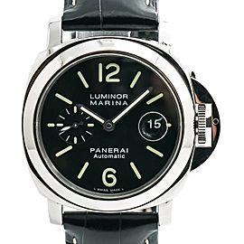 Panerai Luminor Marina PAM104 Mens Automatic Watch With Box & Papers 44mm