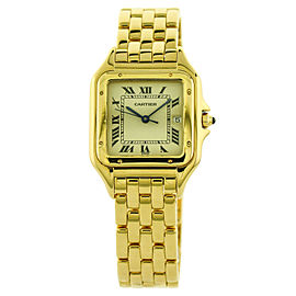 Cartier Panthere Midsize Womens Watch in 18k Yellow Gold