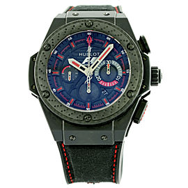 Hublot King Power Formula 1 Blakc Ceramic Automatic Watch 703.CI.1123.NR.FM010