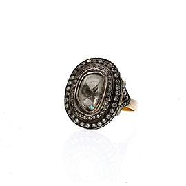 Fine estate 14k Yellow Gold Diamond Ring 6.5 Grams Size 7.5