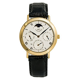 IWC Portofino 2050 Perpetual Calendar Moonphase Box & Papers 18K Gold 36mm