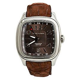 David Yurman GMT Chronometer T306-DST Bronze Dial Stainless Steel 41mm