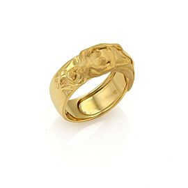 CARRERA y CARRERA Adam & Eve 18k Yellow Gold Band Ring