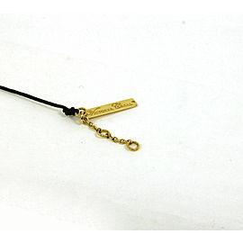 Victoria Casal Pink Sapphire & White MOP 18k Yellow Gold Cord Bracelet