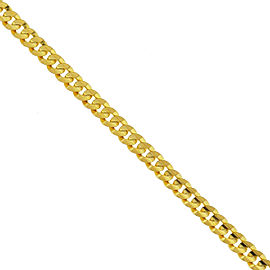 14k Yellow Gold Cuban Link Bracelet