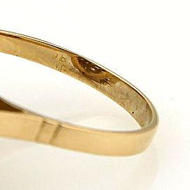 Large Filigree 18k Yellow Gold Ball Ring
