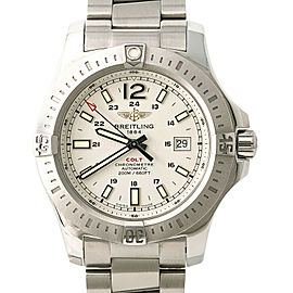 Breitling Colt A17388 Mens Automatic Watch With Box & Papers SS 44mm