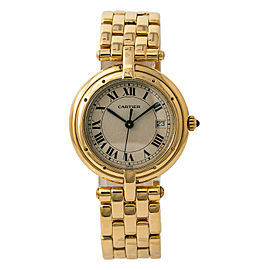 Cartier Panthere Vendome 883964 Womens Quartz Watch 18K Yellow Gold 30mm