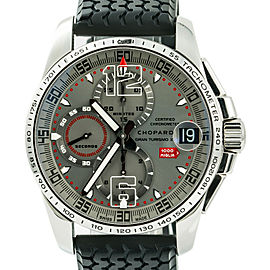 Chopard Mille Miglia 8489 Unworn Mens Automatic Watch Chronograph Grey Dial 44mm