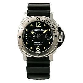 Panerai Luminor Submerisible PAM00024 Mens Automatic Watch Stainless 44mm