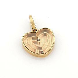 Cartier Labyrinth Heart 18k Rose Gold Charm
