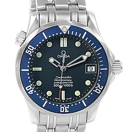 Omega Seamaster Midsize 36 Blue Dial Steel Mens Watch 2551.80.00