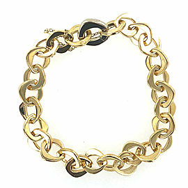 Pomellato 18 Karat Yellow Gold Oval LInk Bracelet