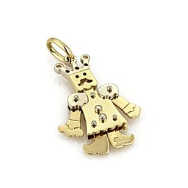 Pomellato Animated King 18k Two Tone Gold Pendant