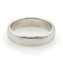 Tiffany & Co. Platinum 6mm Wide Wedding Band Ring Size 13
