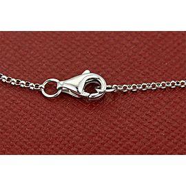 Elegant Rubies & Diamonds Good Luck Eye 18k White Gold Bracelet