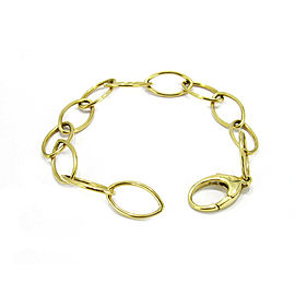Tiffany & Co. Germany 18k Yellow Gold Oval Chain Link Bracelet