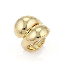 Cartier Carmelo Ying Yang 18k Yellow Gold Ring Size 5