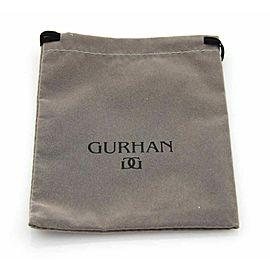 Gurhan Hoopla Sterling Silver 24k Gold 3 Rows Circular Link Bracelet