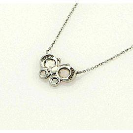 Tiffany & Co. Enchant Diamond Platinum Butterfly Pendant Necklace