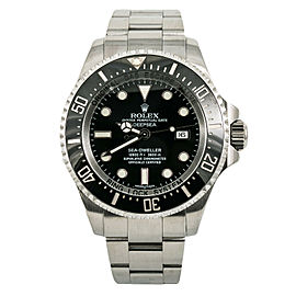 Rolex Sea-Dweller Deepsea 116660 Mens Automatic Watch Ceramic Stainless 44mm