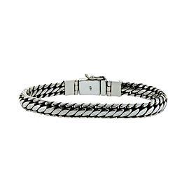 """▌Women's/Men's Sterling Silver Woven Weave Bali Bracelet Size 8"""", 8.5"""", 9"""" »B53"""
