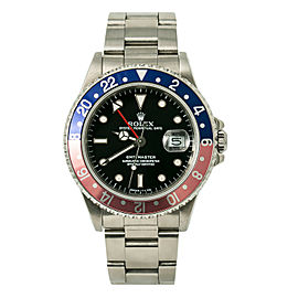 Rolex GMT Master Pepsi Faded Vintage 16700 R Serial Mens Automatic Watch 40mm
