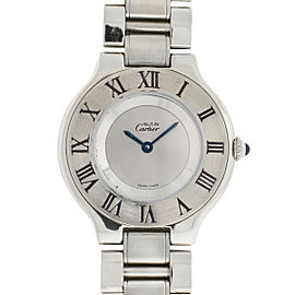 Cartier 1330 Must 21 Ladies Stainless Steel Watch
