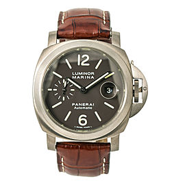 Panerai Luminor Marina PAM00240 W/Box & Paper Men Automatic Watch Titanium 44mm