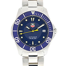 TAG Heuer WAB1112 Aquaracer Blue Dial Quartz Stainless Steel Men's Watch