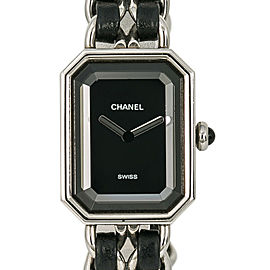 Chanel Premiere Rock H0451 Women Quartz Leather Watch Black Dial 20MM