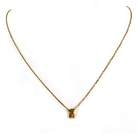 Tous Mini Bear 18k Yellow Gold Pendant Necklace