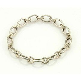 Tiffany & Co. Picasso Hammered All Clasping Sterling Silver Bracelet