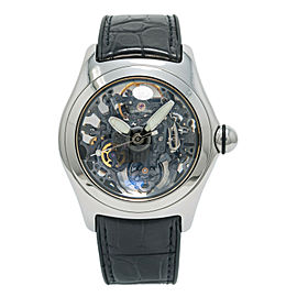 Corum Bubble Skeleton 082.130.20 Men's Automatic Stainless Steel Watch 45mm
