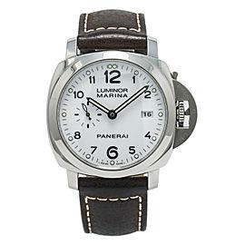 Panerai Luminor Marina 1950 3 Days PAM00499 Men Automatic Steel Watch W/B&P 44mm